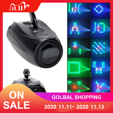 LED Stage Effect Lighting Portable Music Auto/Sound Active 64 LEDs RGBW Lights Laser Club Disco DJ Party Bar KTV Wedding Light