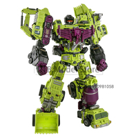 Jinbao – figurine de Transformation G1 6 en 1, jouet GT, Robot de voiture déformable KO NBK Figma, 48CM, 8008