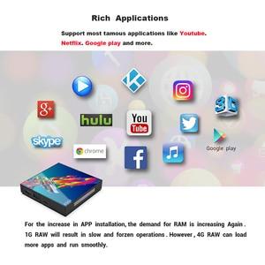 Image 5 - A95X R3 RK3318 Smart Tv Box Android 9.0 4K Set Top Box 4Gb 64Gb 32Gb 3D USB3.0 Dual Wifi Google Playstore Youtube 4K Tvbox