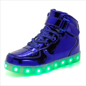 Image 4 - Size 35 44 Mens&Womens Sneakers Luminous Led Shoes with Luminous Sole Light Glowing Sneakers Light Up Shoes Led Slippers