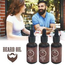 Мужское натуральное органическое стильное масло для усов, увлажняющее, сглаживающее, лиховое, нежное, мужское масло для бороды, уход за волосами, высокое качество, новинка