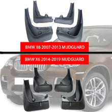 car-fenders Mud Flaps for BMW X6 2007-2019 guards Mudflaps splash car accessories mudguard