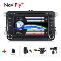minimum price ! 7 Car DVD For VW GPS Navigation original menu for GOLF 6 polo Bora JETTA MK4 OCTAVIA Fabia GPS free ship
