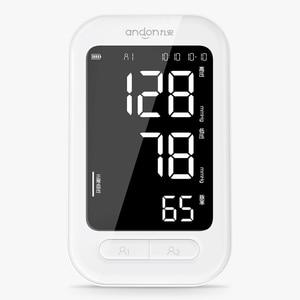 Image 2 - Andon חכם צג לחץ דם זרוע לב דופק ביט מטר Tonometer Sphygmomanometers Pulsometer עבור בית