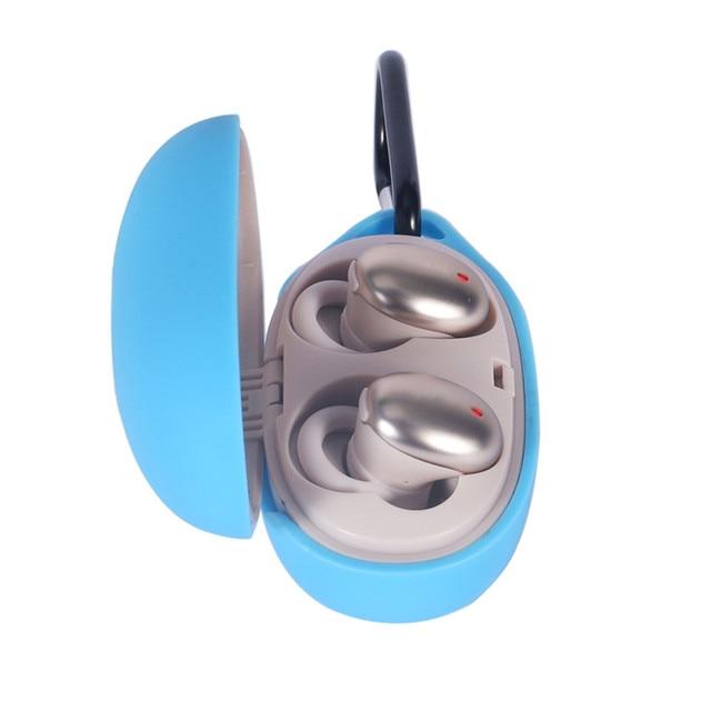 Silicone Bluetooth sans fil casque housse pour Xiaomi 1 plus élégant vrai sans fil intra-auriculaire casque peau coque portable