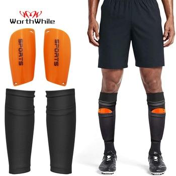 Worthside – protège-tibia pour adolescents, 1 paire de coussinets de chaussettes de Football, boucliers professionnels, jambières, manches, équipement de protection 1