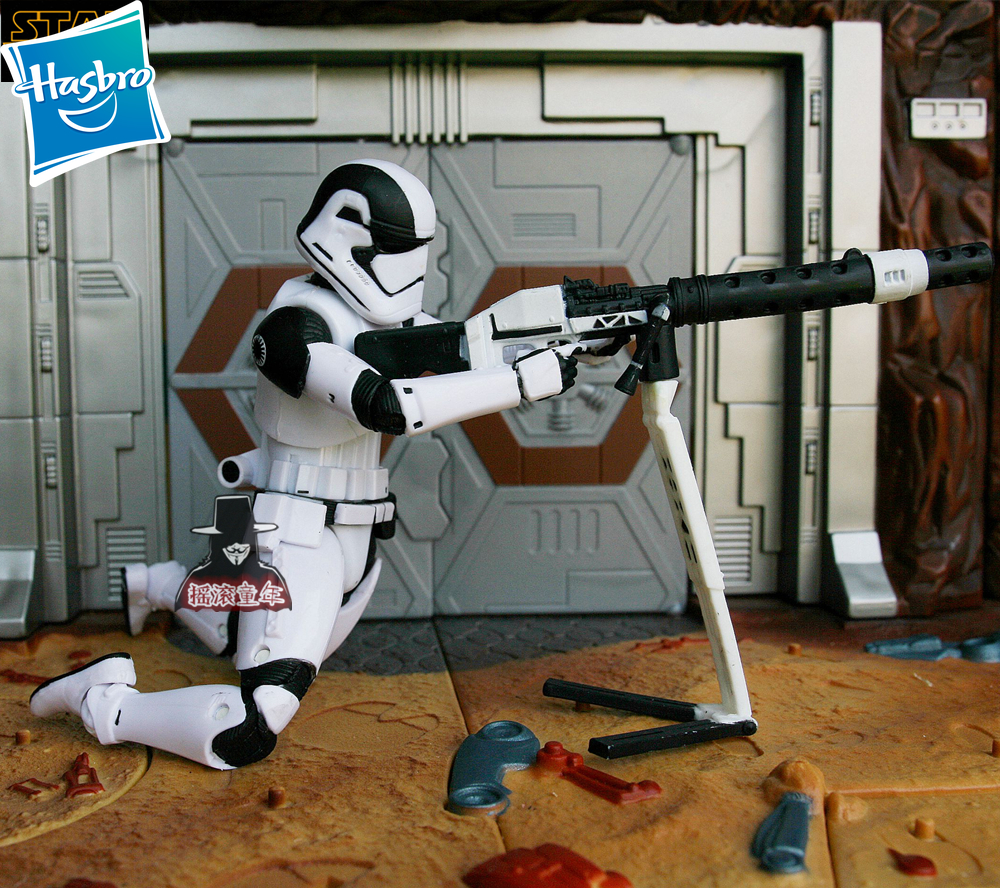 6 inches Star Wars Stormtrooper white soldier anime action & toy figures model toys for children