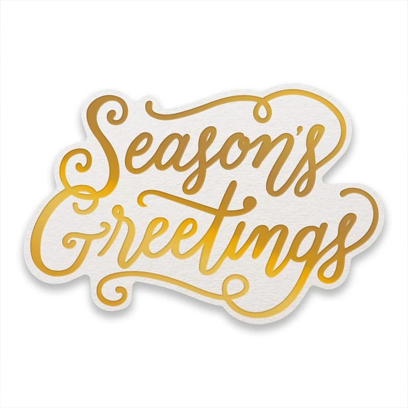 Season 39 s Greetings Frame Metal Hot Foil Plates for DIY Scrapbooking Letterpress Embossing Cards Making Crafts Supplies New 2019 in Cutting Dies from Home amp Garden