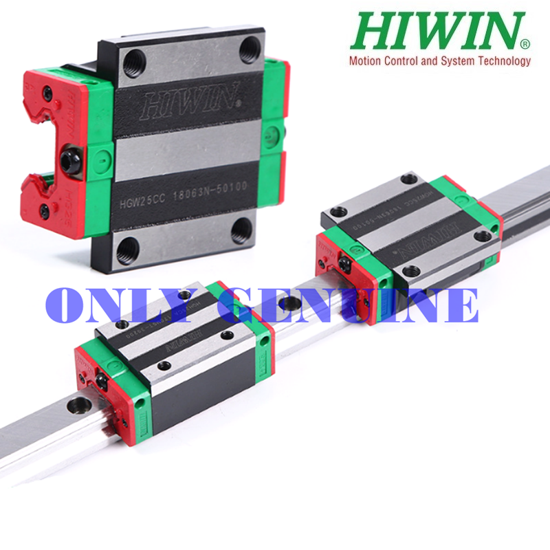 2 sets HGR20-1000mm Hiwin Liner rail /& 2 pcs HGH20HA Block Bearing