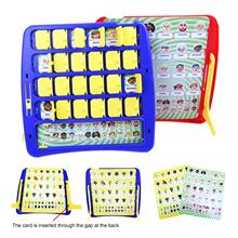 Who Is It Board Game Children Educational Game Parent-child Interactive Toy Memory Training Leisure Time Party Indoor Game Props