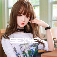 SEXYE TPE Doll Realistic Young Sexdoll Silicone Breast Ass Pussy Sexy Toys Oral Love Doll Adult Lifelike Sex Doll