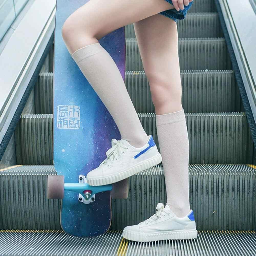 Sıcak kadın çorap düz kış sıcak kablo uzun çizme çorap diz üzerinde uyluk yüksek bayanlar çorap kızlar Sokken Meias Moistureproof SOxs