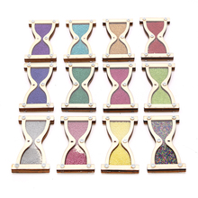 Wooden Hourglass Toy Baby Busy Board Busyboard Toddler Montessori Early Childhood Education Puzzle Enlightenment Diy Accessories