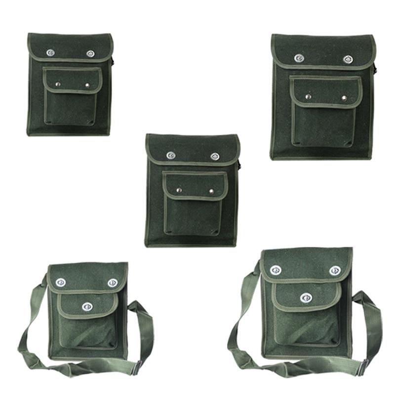 Satchel Screwdriver Utility Kit Thick MultiFunction Wear-Resistant Repair Shoulder Bag Canvas Hardware Electrician Tool Bags
