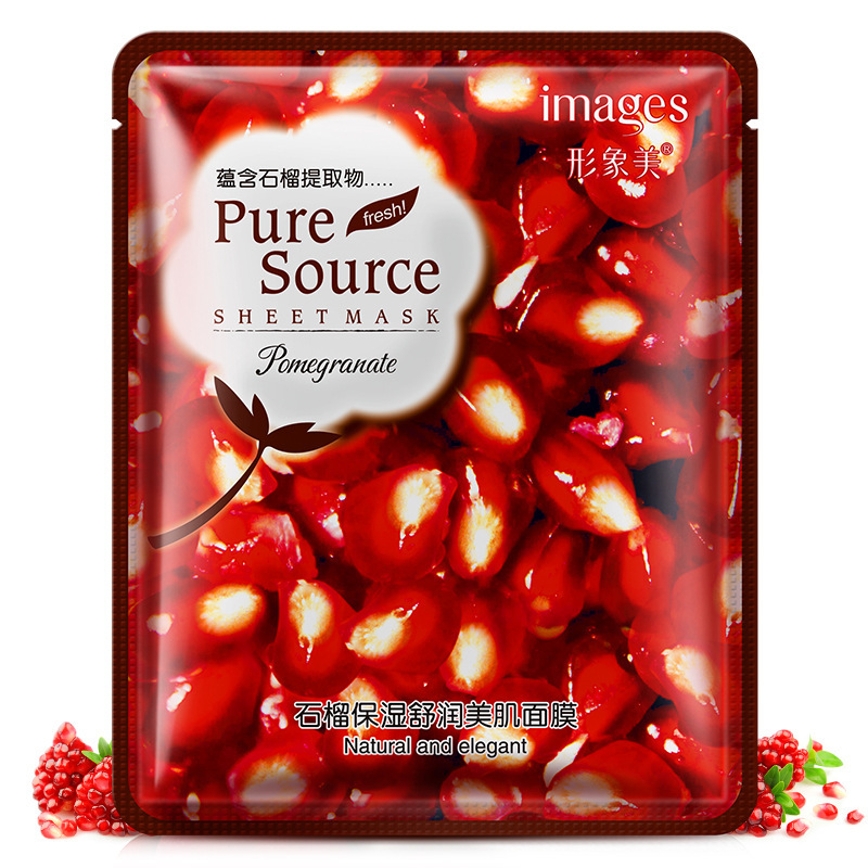 Lavender korean face mask acne Aloe Moisturizing Oil control mask for face Cherry pomegranate Acne Treatment