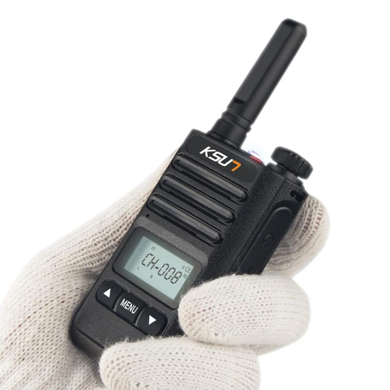 KSUN KS-XKB Walkie Talkie 6W High Power Dual Band Handheld Two Way Ham Radio Communicator HF Transceiver Amateur Handy