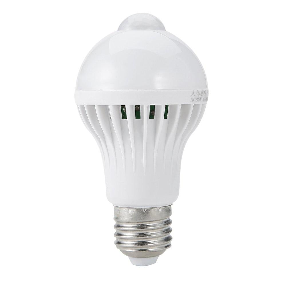 E27/B22 LED PIR Motion Sensor Lamp 5W/7W/9W Super Brightness PIR Infrared Human Body Induction Lamp Bulb