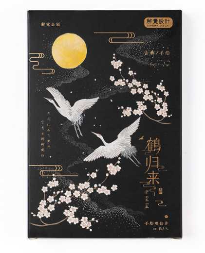 P204- Happy Bird Paper Postcard(1pack=30pieces)