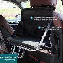 Storage-Bag Table Laptop-Holder Car-Back-Seat Desk-Bracket Food-Tray Computer