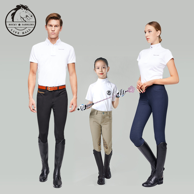 Cavassion Microfiber Bionic Equestrian Leather Riding Boots Half-Chaps For Kids & Adults  3