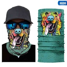Animals Balaclava Motorcycle Mask Autumn Summer Masks Halloween Shield Cycling Snowboard Motorcross Head face Scarf