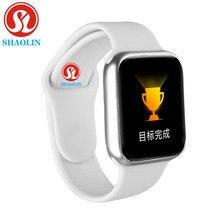 Reloj inteligente resistente al agua para hombre y mujer, reloj inteligente con control del ritmo cardíaco, 38MM, Apple Watch, IOS, Android, serie 5 IWO