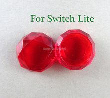 4 stücke Für Nintendo Schalter Lite Freude Con Kristall Thumb grip Kappe FÜR Schalter Joycon Silikon Non slip Kristall thumbSticks Grip Cap