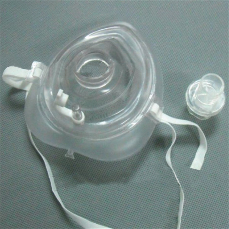 5pcs One-way CPR Mask Training Valves With One-way Valve For CPR Resuscitator Practice Emergecy Rescue Tool