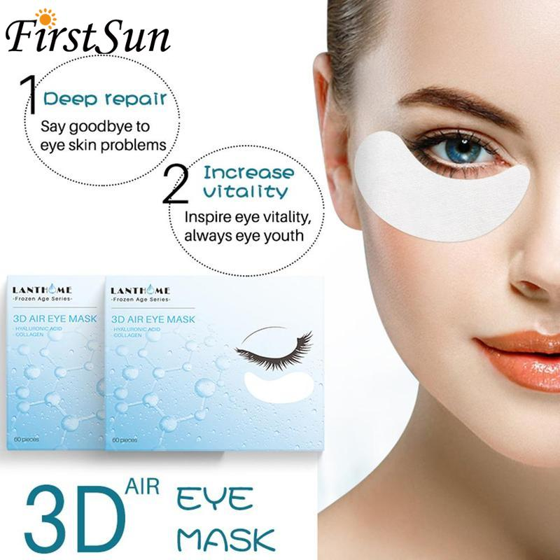 60pcs Seaweed Collagen Eye Mask Face Anti Wrinkle Gel Sleep Gold Mask Eye Patches Collagen Moisturizing Eye Mask Eye Care
