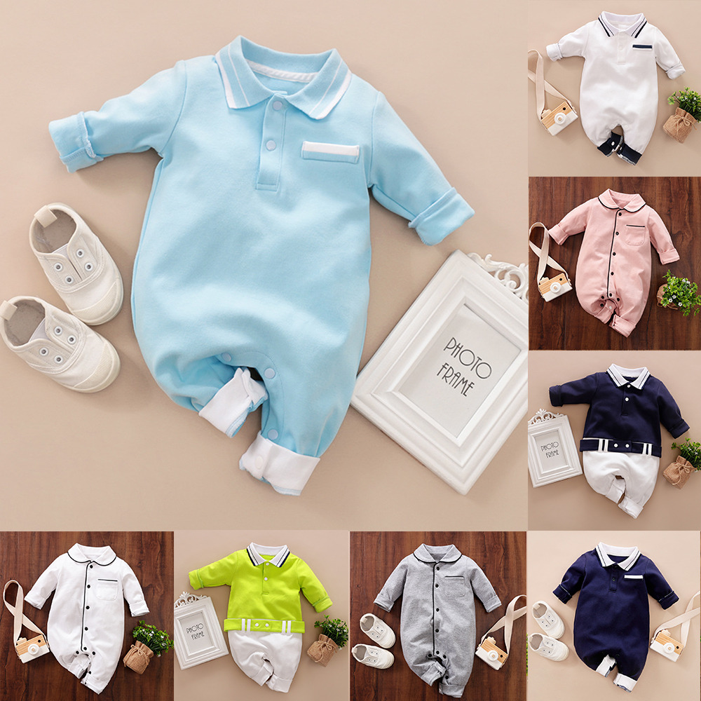 Malapina Newborn Baby Boy Girl Clothes Shirt Style Onesie Romper Jumpsuit Overalls Infant Cotton Outfit Toddler Spring Costume