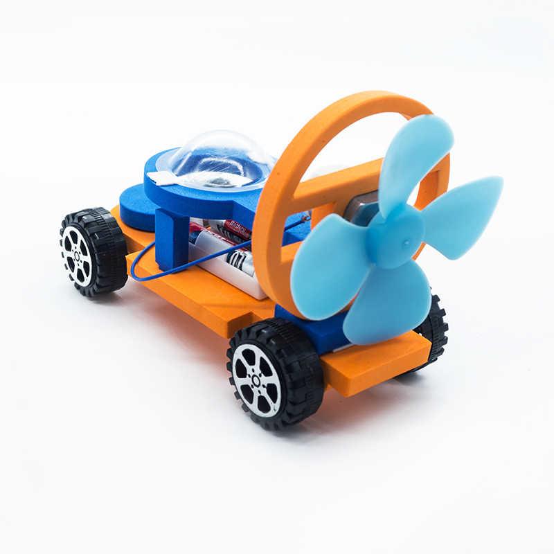 1 Set Bambini di Costruzione di Modello Kit di Giocattoli di Auto da Corsa per I Bambini Educativi Scienza Tecnologia di Apprendimento Delle Ragazze Dei Ragazzi Logica Fai da Te Giochi
