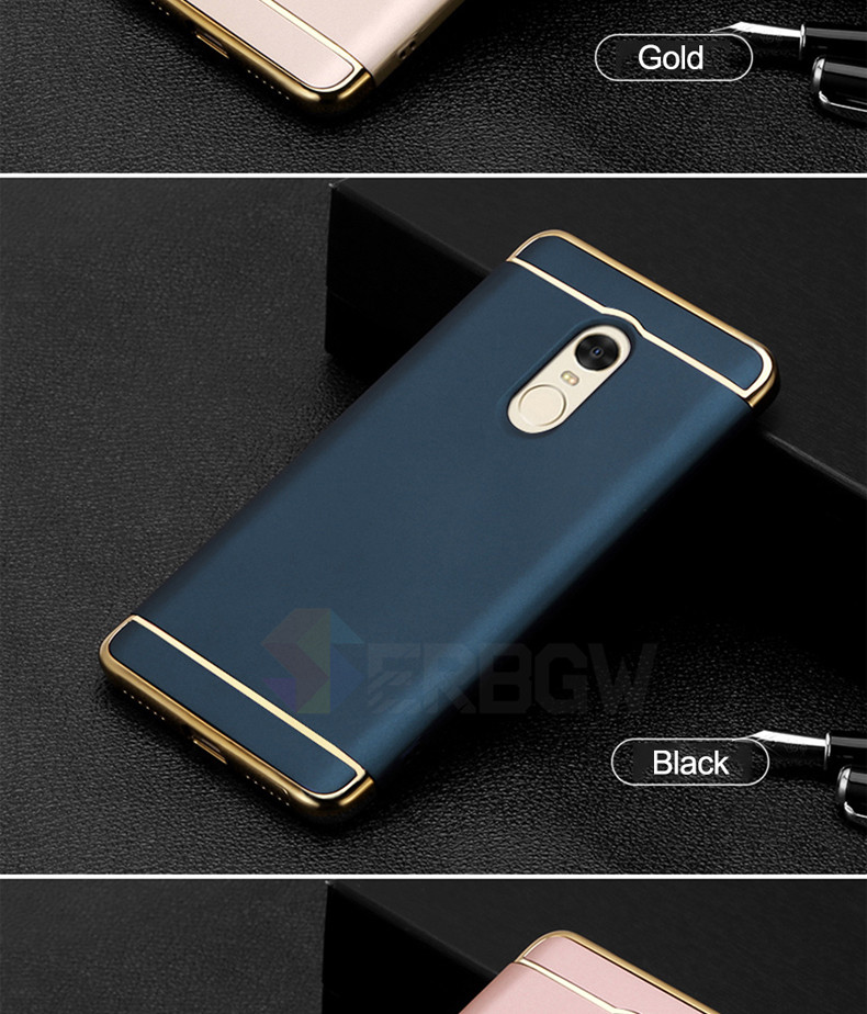 Luxury Hard Case For Xiaomi Redmi Note 4 4X 5A with Full Coverage 13