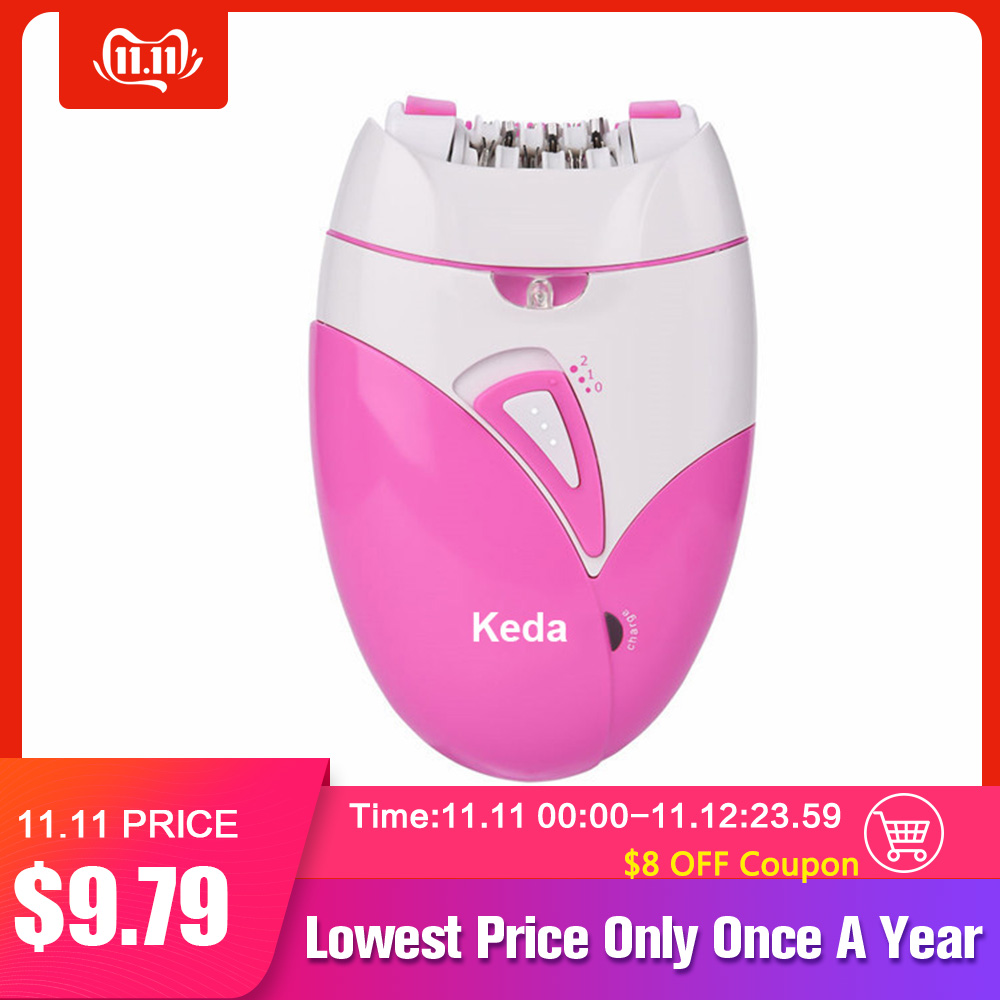 Woman's Epilator USB Charge Hair Removal Machine Electric Rechargeable Lady Shaving Trimmer Hair Removal