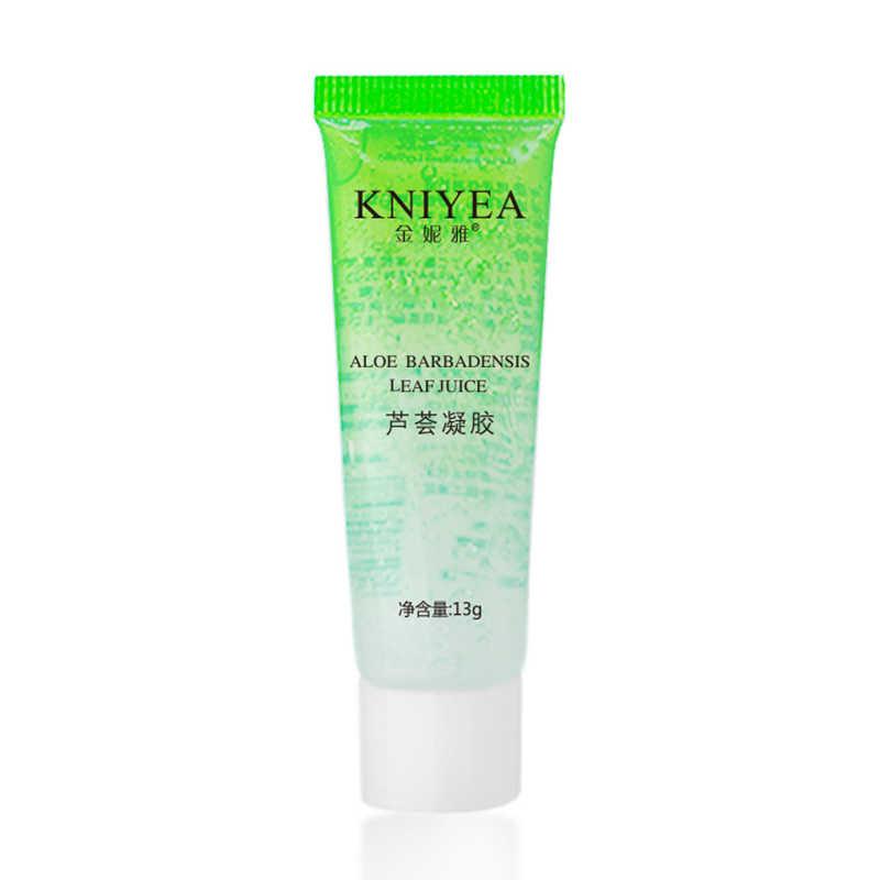 Toptan saf Aloe Vera jel hyaluronik asit bitkiler baz astar onarım nemlendirici cilt bakımı yüz kremi makyaj kozmetik TSLM1