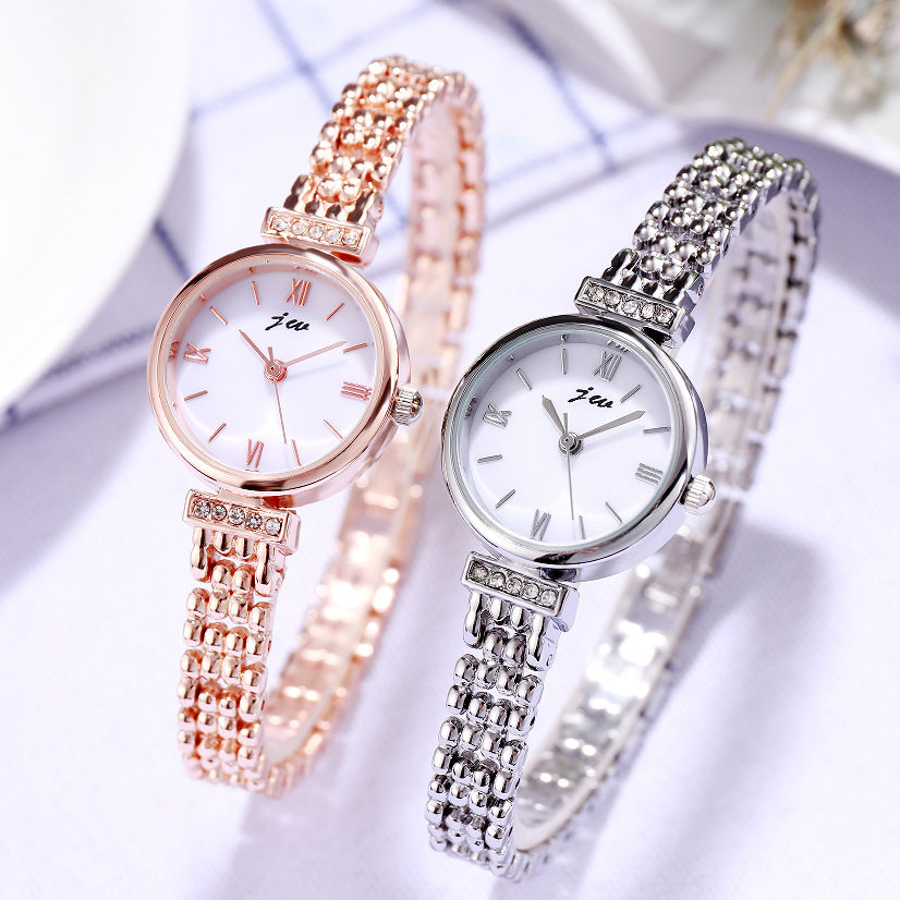 2020 New Arrival Wrist Watches Women Luxury Rose Gold Watch Fashion Casual Stainless Steel Quartz Clock Ladies Watch Reloj Mujer