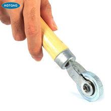AQTQAQ 1 pièces pneu Patch manche en bois réparation Patch pneu Dia rouleau outil pour voiture vélo moto