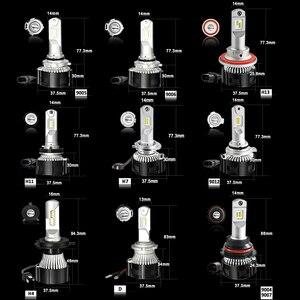 Image 5 - CNSUNNYLIGHT H4 Xi Nhan Canbus LED H7 H11 H8 HB4 Đèn Pha Ô Tô 9005 HB3 D1 9012 Tự Động Bóng Đèn 104W 16000Lm Không sai Số 6500K Xe Ô Tô Tạo Kiểu Đèn