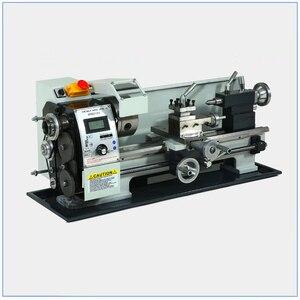 Image 3 - ブラシレスモーター金属旋盤 2500RPM 750 ワットのミニベンチ旋盤可変スピンドル速度旋盤機ミニ精密部品プロセス