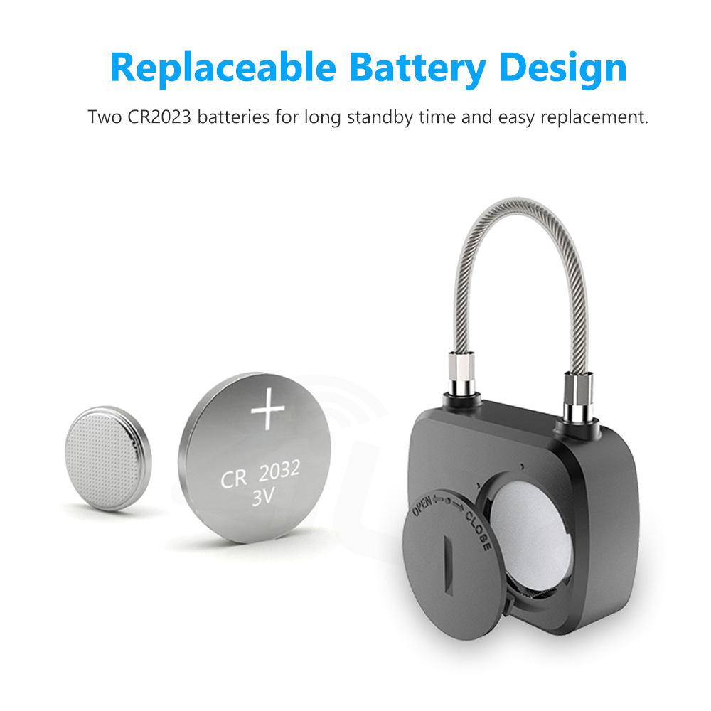 Image 3 - ZILNK Smart Fingerprint Lock Keyless Anti Theft  Security Electric Padlock IP65 Waterproof For Door Bag LuggageElectric Lock   -