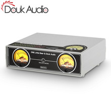 Douk áudio duplo analógico vu medidor painel db display de nível de som áudio indicador para misturador amplificador preamp