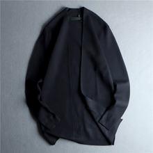 Мужской вязаный кардиган повседневный свободный свитер с v образным