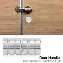Stainless Steel Door Handle Shower Glass Door Round Handle 12 ~ 18 mm Thickness Door Pull shower door handle pa 648 30 15 465mm stainless steel pull handles glass doorknob for 6mm 12mm thick glass