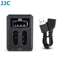 JJC USB double chargeur de batterie pour Sony ZV 1 NP BX1 RX100 VII VI VA V IV III II RX1RM2 RX1R RX1 WX500 WX530 WX300 batterie dappareil photo