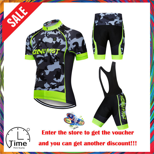 Conjunto de Ropa para ciclismo para hombre, Ropa de verano del 2020 para carreras, traje transpirable para ciclismo de montaña o carretera