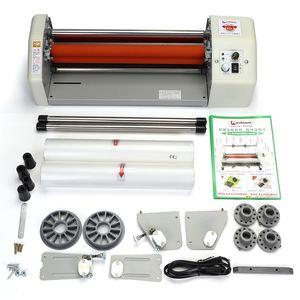 8350T 220V Laminador Máquina de Laminação Filme Laminador Foto Laminador A Frio Quente Velocidade Rápida Máquina de Quatro Rolos A3 +