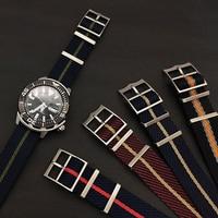 High-Grade Nylon Material Ersatz Geflochtene Nylon NATO Uhr Bands Für Tudors Einstellbare Nylon Strap