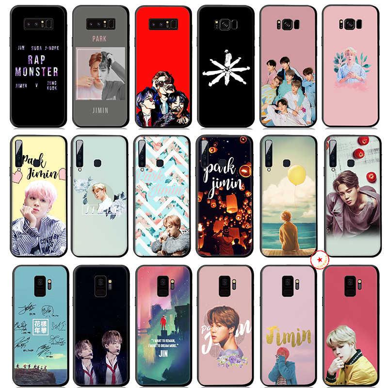 Park Ji Min Jimin K Pop Yumuşak Silikon samsung kılıfı Galaxy A50 A70 A60 A40 A30 A20 A10 M10 M20 M30 m40 Kapak