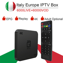 S905 Android 7,1/S905W/4 K smart tv box& Италия супер iptv подписка Германия Albania Турция Великобритания Netflix ExYu для взрослых ip tv