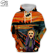 PLstar Cosmos New Movie Joker Joaquin Phoenix Colorful Harajuku Tracksuit 3D Print Hoodie/Sweatshirt/Jacket/shirts Men Women s-2