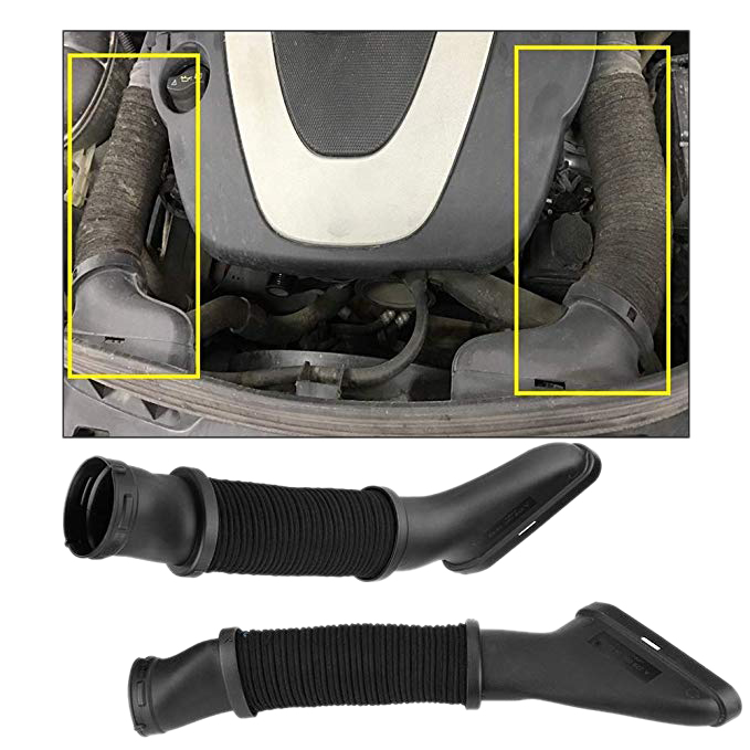 1 piece Left side Air Intake Duct hose for Mercedes W166 GL450 GL500 ML500